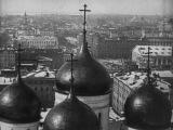 Москва панорама города 1908 г. Кадры кинохроники.