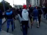 Донецк. Разгон бандеровских гастролеров.  28.04.2014
