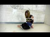 Jenn in ropes